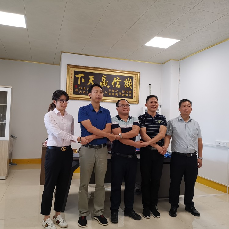 广东宏阔试验设备有限公司广西办事处举行成立签约仪式